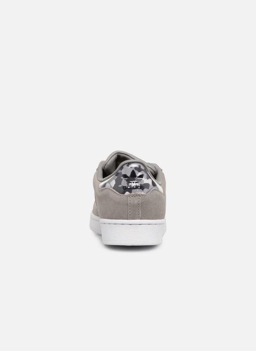 Baskets adidas originals Superstar C Gris vue droite