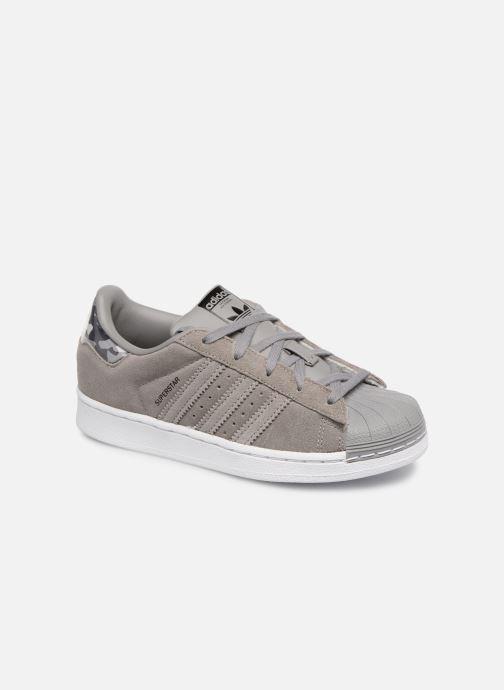 adidas originals superstar c (gris) - baskets chez sarenza (344556)