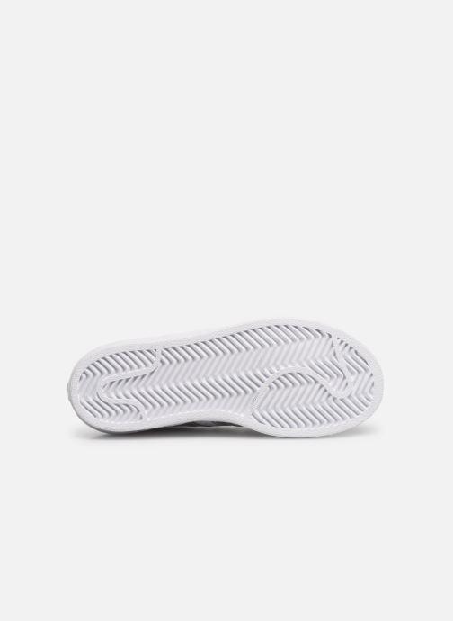 Sneakers adidas originals Superstar C Bianco immagine dall'alto