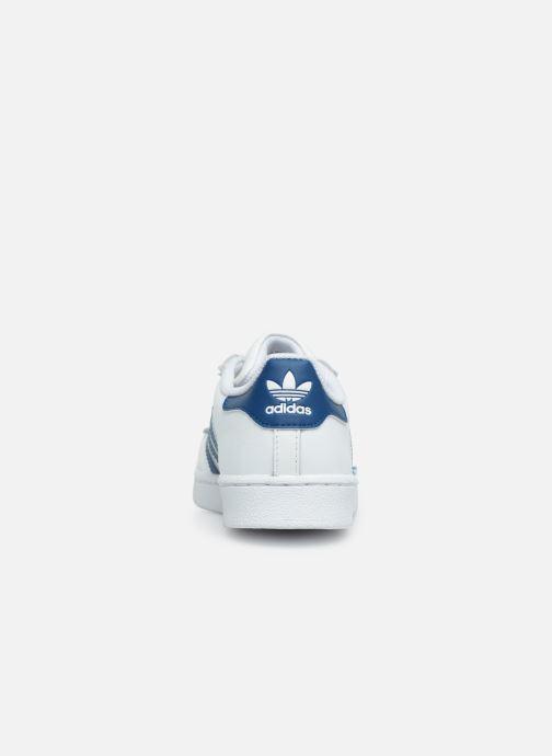 Sneaker adidas originals Superstar C weiß ansicht von rechts