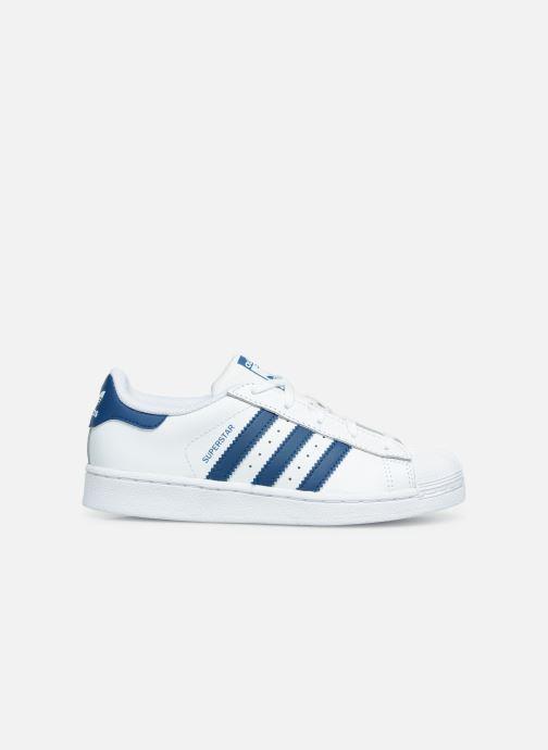 Sneaker adidas originals Superstar C weiß ansicht von hinten