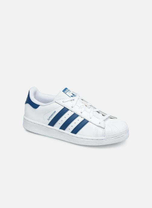 Deportivas adidas originals Superstar C Blanco vista de detalle / par