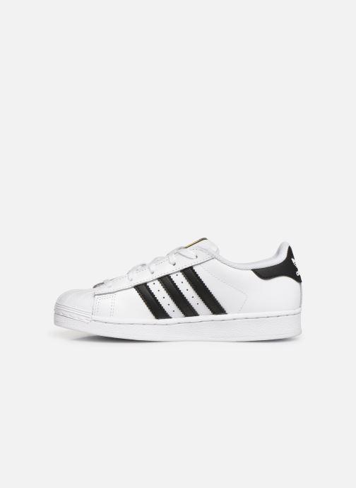Sneakers adidas originals Superstar C Vit bild från framsidan