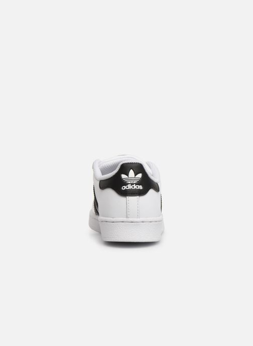 Sneakers adidas originals Superstar C Vit Bild från höger sidan