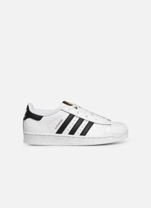 Sneakers adidas originals Superstar C Vit bild från baksidan