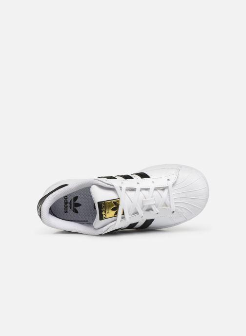 Sneakers adidas originals Superstar C Vit bild från vänster sidan