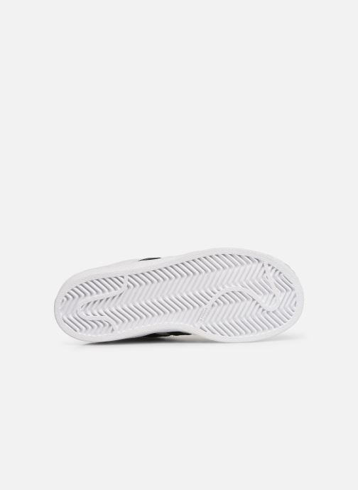 Sneakers adidas originals Superstar C Vit bild från ovan