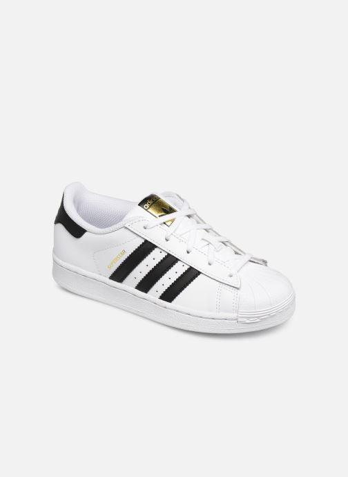 Sneakers adidas originals Superstar C Vit detaljerad bild på paret