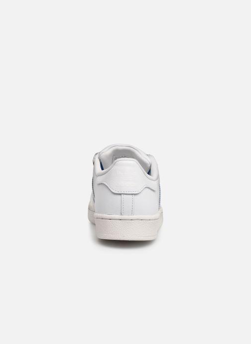 Sneakers adidas originals Superstar C Wit rechts