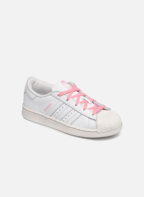 Trainers adidas originals Superstar C White detailed view/ Pair view