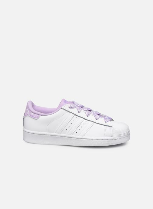 Sneakers adidas originals Superstar C Bianco immagine posteriore