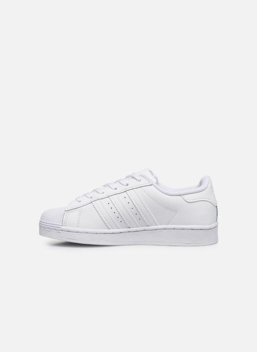 Sneakers adidas originals Superstar C Bianco immagine frontale