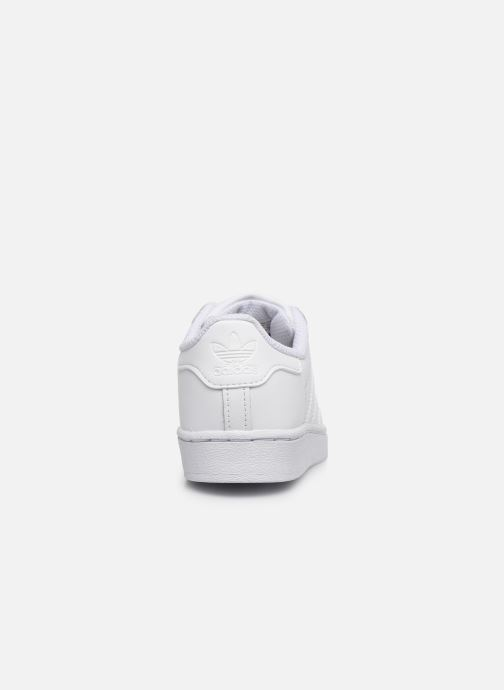 Deportivas adidas originals Superstar C Blanco vista lateral derecha