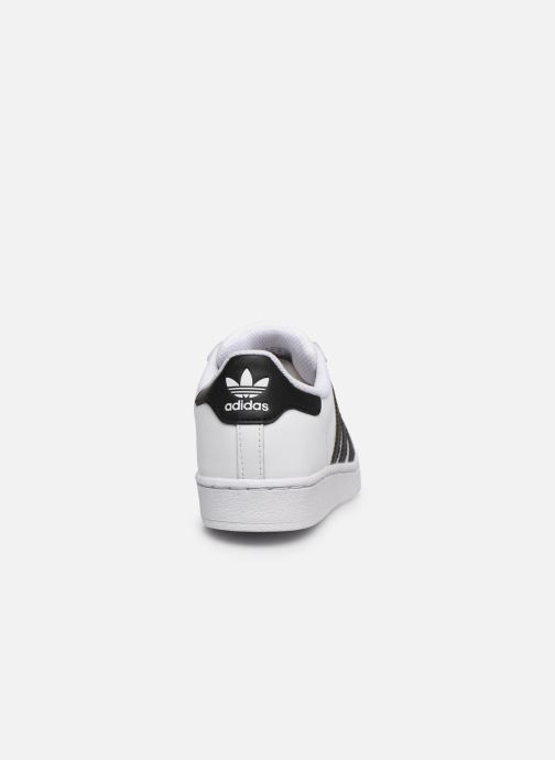 Sneakers adidas originals Superstar C Bianco immagine destra
