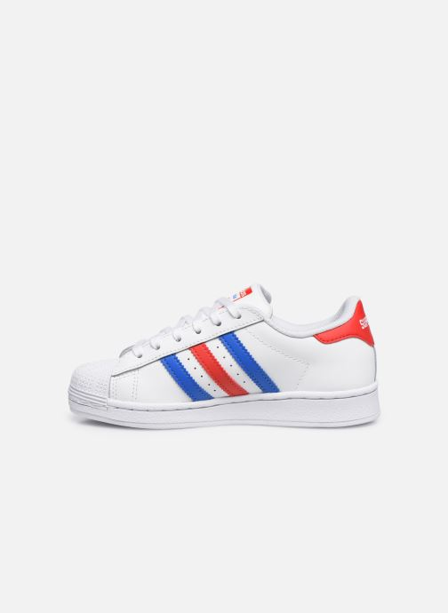 Sneakers adidas originals Superstar C Wit voorkant