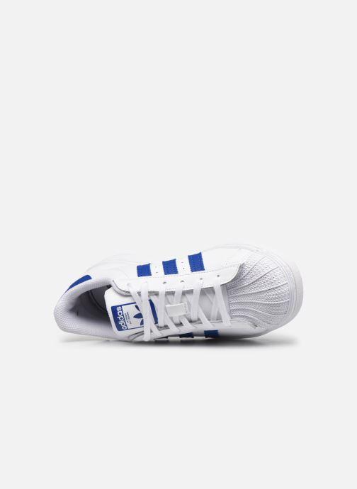 Sneaker adidas originals Superstar C weiß ansicht von links