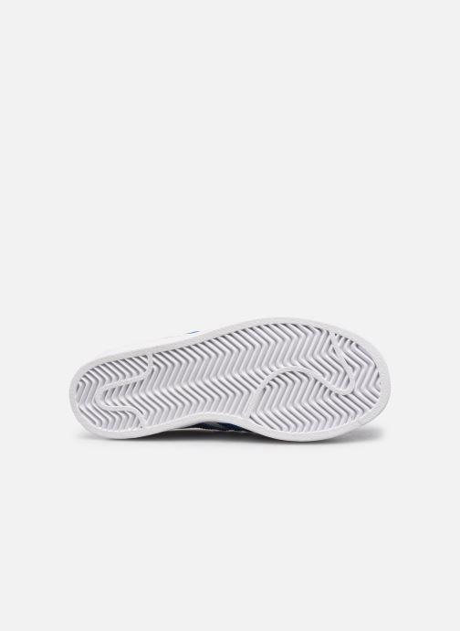 Sneaker adidas originals Superstar C weiß ansicht von oben
