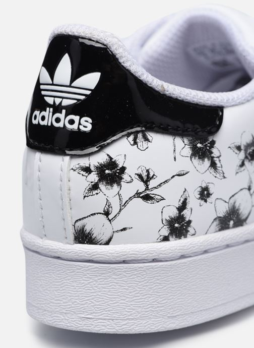 Sneakers adidas originals Superstar C Bianco immagine 3/4