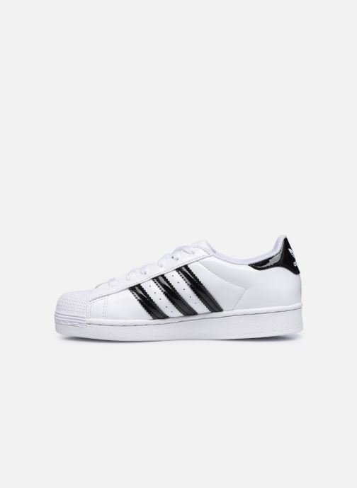 Sneakers adidas originals Superstar C Bianco immagine frontale