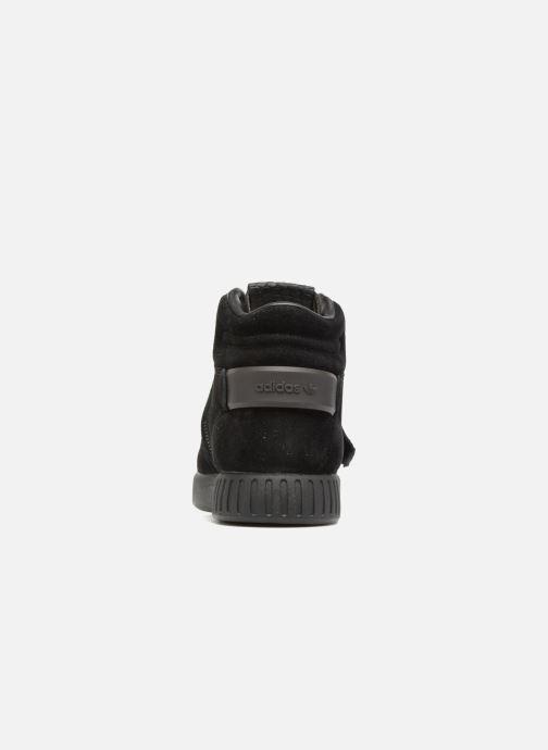 Deportivas adidas originals Tubular Invader Strap J Negro vista lateral derecha