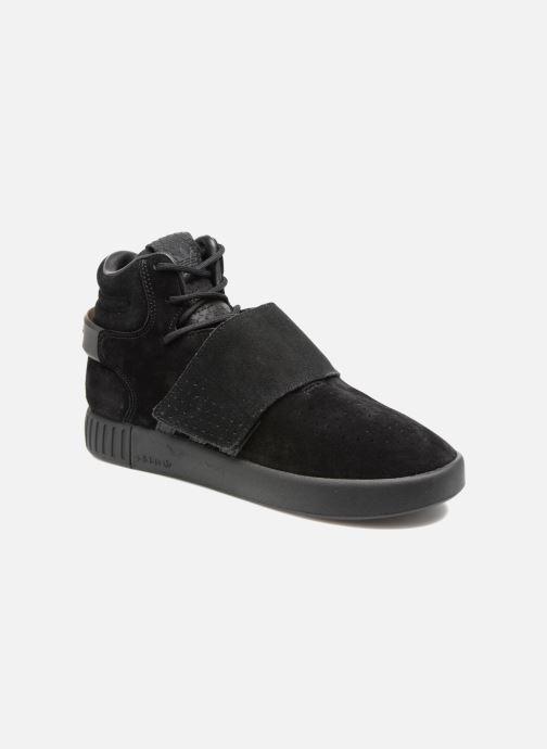 Sneakers adidas originals Tubular Invader Strap J Zwart detail