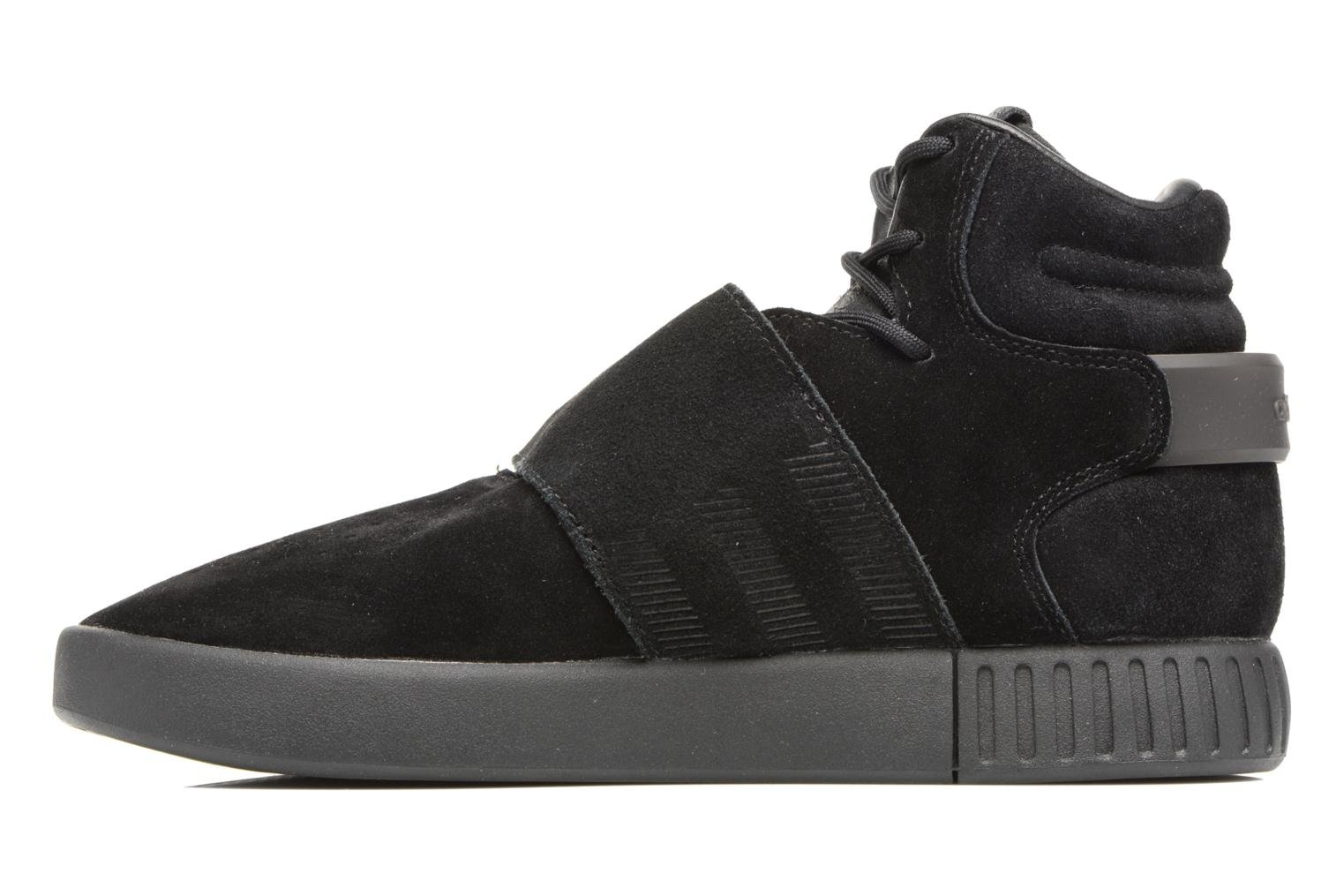 Sneakers Adidas Originals Tubular Invader Strap J Nero immagine frontale