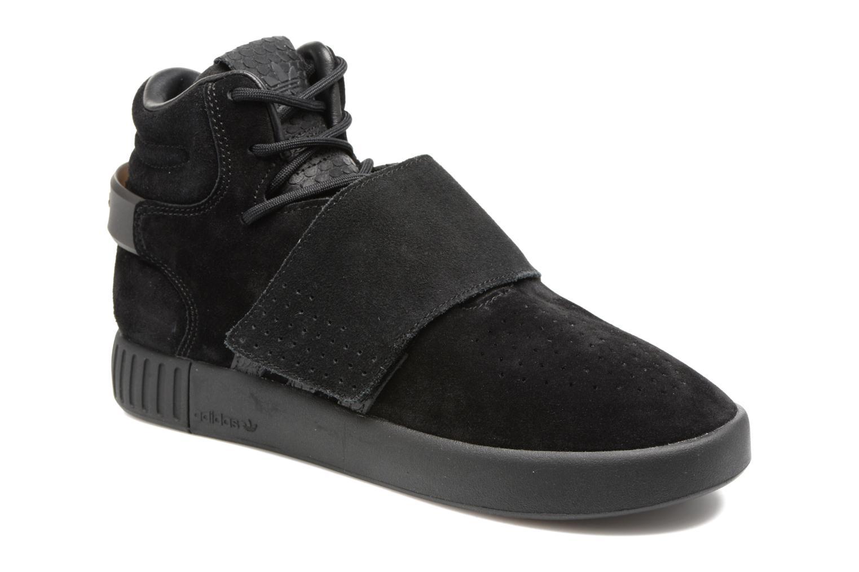 Baskets Adidas Originals Tubular Invader Strap J Noir vue détail/paire
