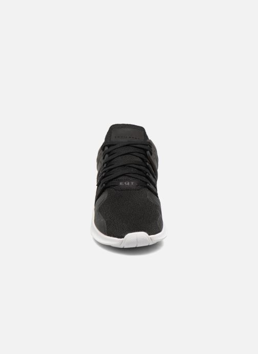 Trainers adidas originals Eqt Support Adv J Black model view