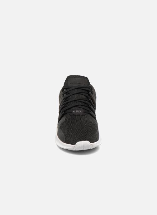 Sneaker Adidas Originals Eqt Support Adv J schwarz schuhe getragen