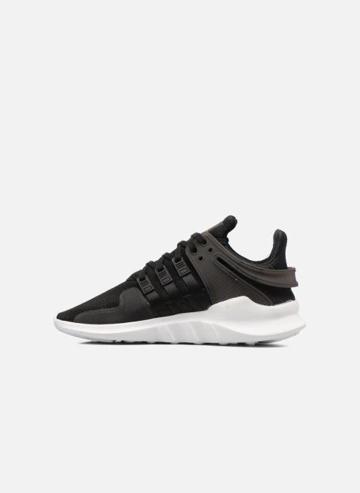 Sneaker adidas originals Eqt Support Adv J schwarz ansicht von vorne
