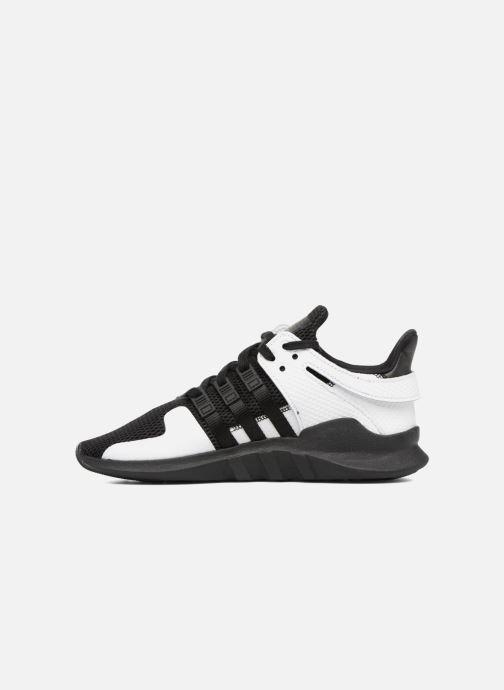 Sneakers adidas originals Eqt Support Adv J Zwart voorkant