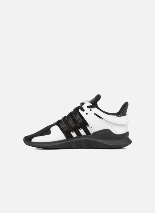 Sneakers adidas originals Eqt Support Adv J Zwart voorkant