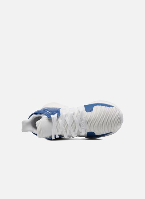 Trainers adidas originals Eqt Support Adv J Blue view from the left