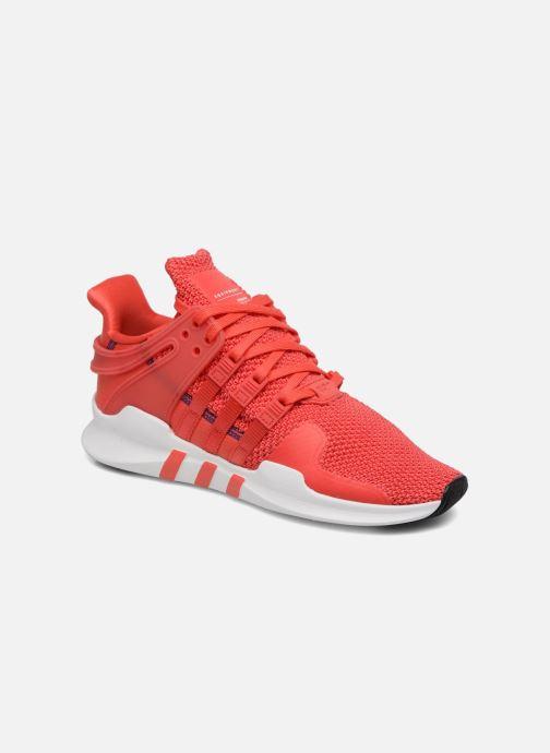 new concept 10ef2 5c883 Baskets Adidas Originals Eqt Support Adv J Rouge vue détailpaire