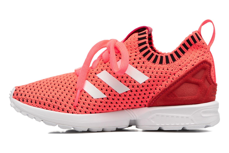 Sneakers Adidas Originals Zx Flux Pk J Pink se forfra