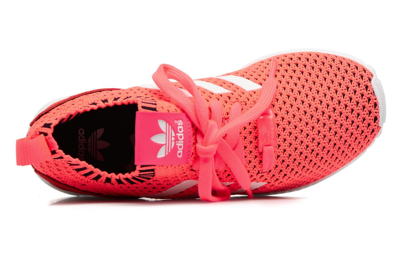 Sneakers Adidas Originals Zx Flux Pk J Pink se fra venstre