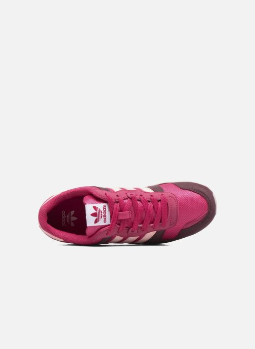 Trainers adidas originals Zx 700 J Pink view from the left