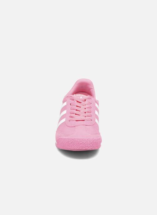 adidas originals Dragon Og J (Rose) - Baskets chez Sarenza (286472)