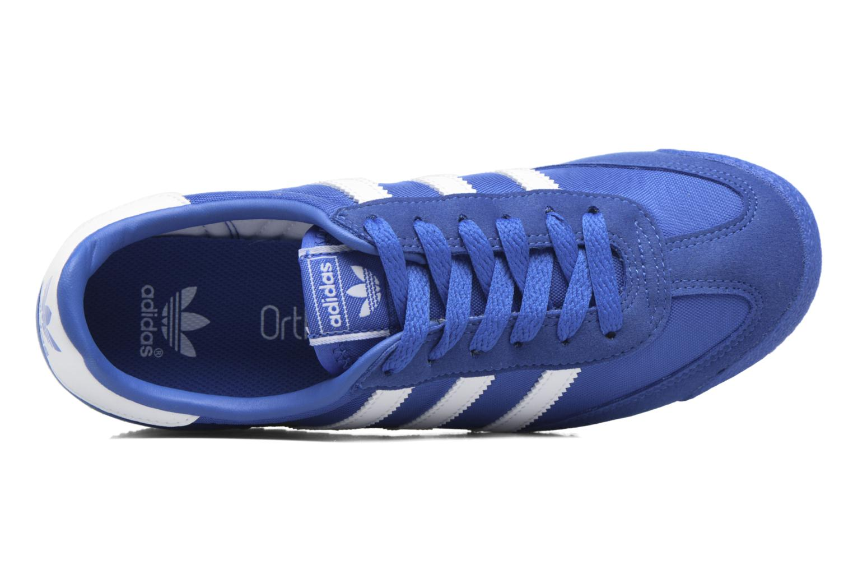 Baskets Adidas Originals Dragon Og J Bleu vue gauche