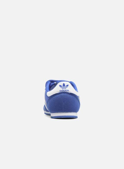 Sneakers adidas originals Dragon Og Cf I Blå Se fra højre