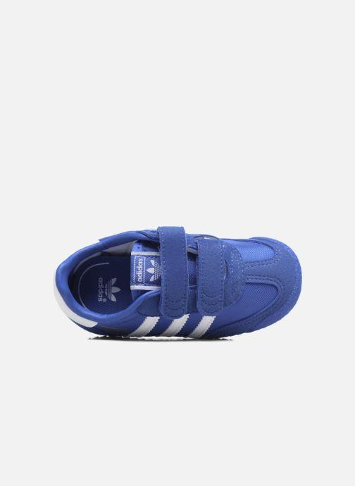 Sneakers adidas originals Dragon Og Cf I Blå se fra venstre