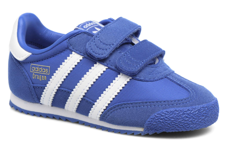 new styles 82fc1 914e9 Baskets Adidas Originals Dragon Og Cf I Bleu vue détailpaire