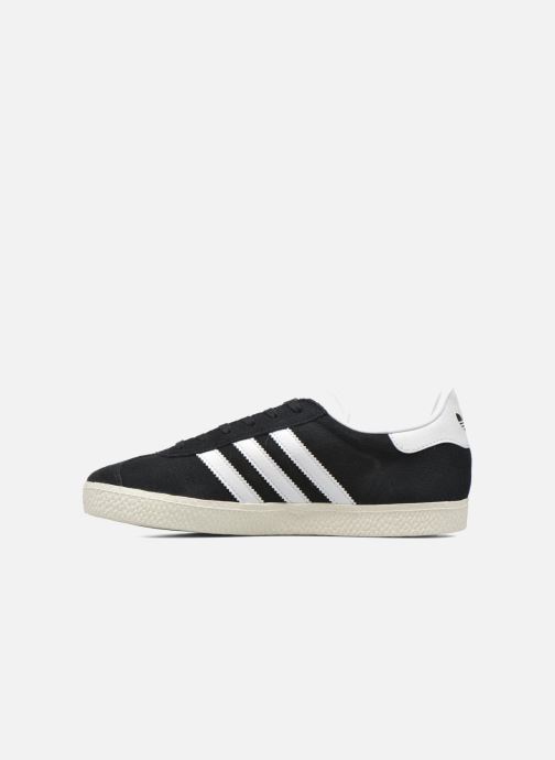 Baskets Adidas Originals Gazelle J Noir vue face
