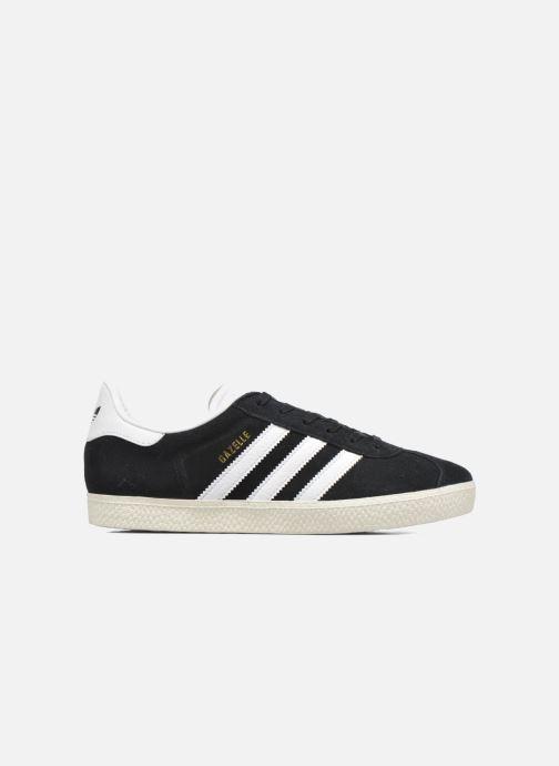 Baskets adidas originals Gazelle J Noir vue derrière