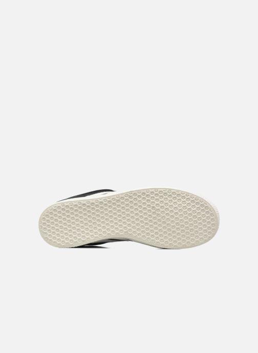 Baskets adidas originals Gazelle J Noir vue haut