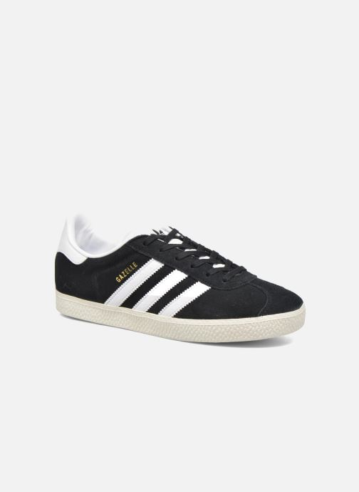 Baskets adidas originals Gazelle J Noir vue détail/paire