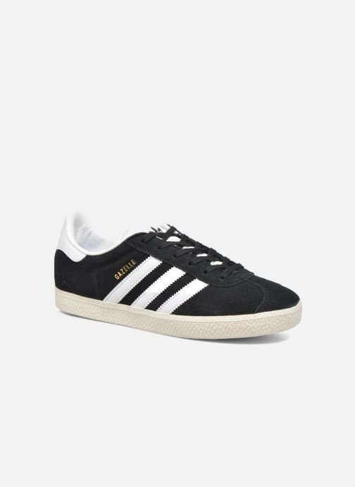 Trainers Adidas Originals Gazelle J Black detailed view/ Pair view