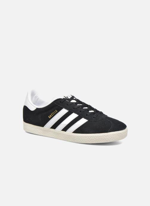 Sneakers Adidas Originals Gazelle J Zwart detail