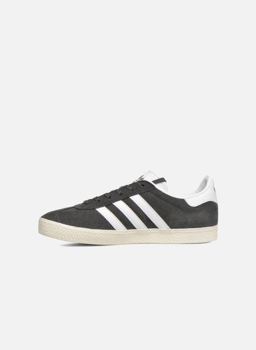 Sneakers adidas originals Gazelle J Grigio immagine frontale