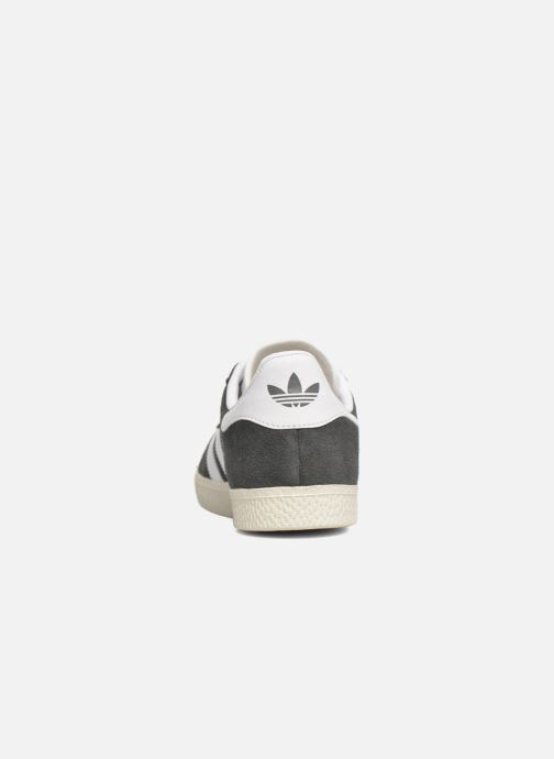 Trainers adidas originals Gazelle J Grey view from the right